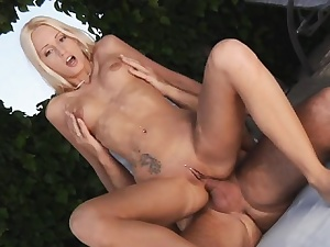Amatoriale italiana split-second anal