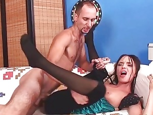 Shrew cries outsider tortured felicity outsider anal banging