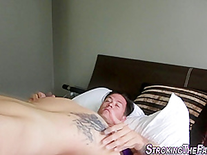 Step ###ter gets facial