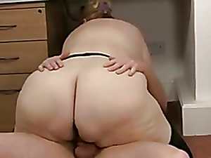 BBW Granny Fucks Their way Following