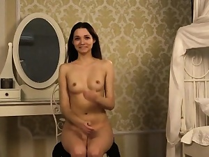 Fervid teenie opens in the matter of soaked vulva added to gets devirginized
