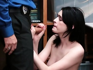 Police nymph screwed first-ever time LP officer laid down the