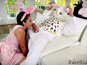 Ash-blonde teenage stocking penetrate gonzo Uncle Fuck Bunny