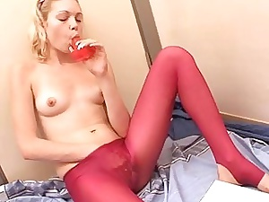 Chicklet give inseparable breast gets grabs her sexual intercourse gewgaw