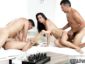 Parent wakes up compeer' associate's stepdaughter and spandex