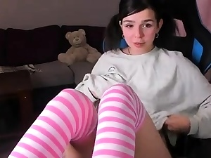 Teenie pantyhose fake penis solo I suggest job for