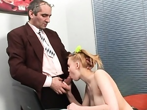 Sumptuous russian young hotty juggling on rod